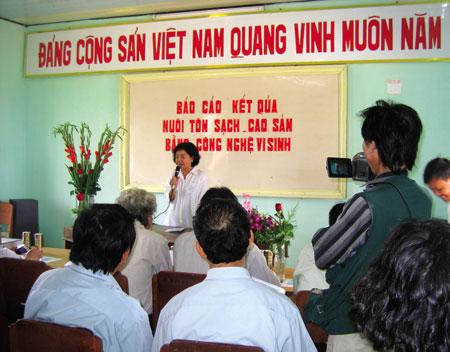 Báo cáo kết quả nuôi tôm sạch - cao sản bằng công nghệ vi sinh tại Bình Thuận