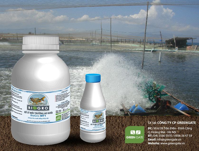 BioGro-MT1 Xử lý môi trường ao nuôi