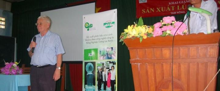 Phân bón vi sinh BioGro trong sản xuất lúa ở Việt Nam
