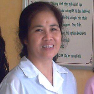 Kỹ sư sinh học Lý Ngọc Oanh - Khoa Sinh học - Trường ĐHKH Tự nhiên Hà Nội
